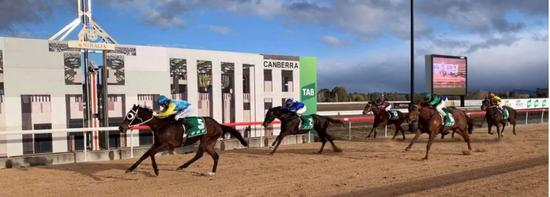 O'Princess romps away in Canberra