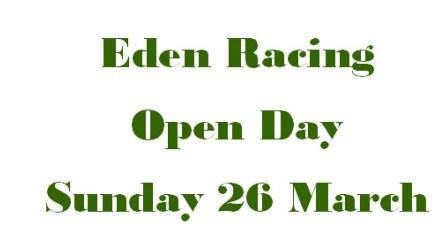 Eden Racing 2017 Open Day Invitation