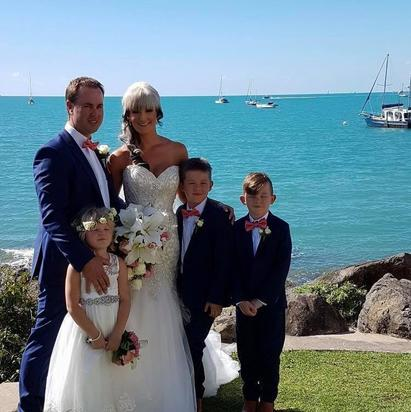 Blue Skies and Sunshine As Shea and Miranda Tie The Knot