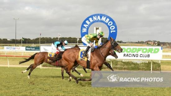 Woodford Cup Third Time Lucky For Artie's Shore