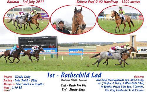 ROTHSCHILD LAD WINS R62 BALLARAT