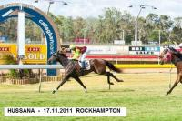 HUSSANA WINS CLASS 4 ROCKHAMPTON