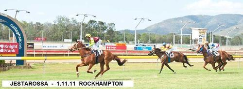 JESTAROSSA WINS CLASS 3 ROCKHAMPTON