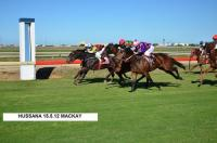 HUSSANA WINS CLASS 6 MACKAY 1300m