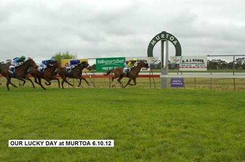 OUR LUCKY DAY WINS MURTOA MAIDEN 1600M