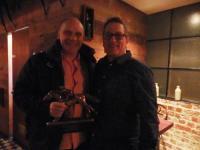 Stephen Hanlon wins Owner Of The Year Award 2015