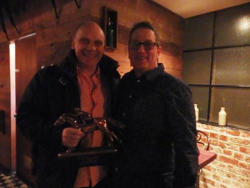 Stephen Hanlon wins Owner Of The Year Award 2015
