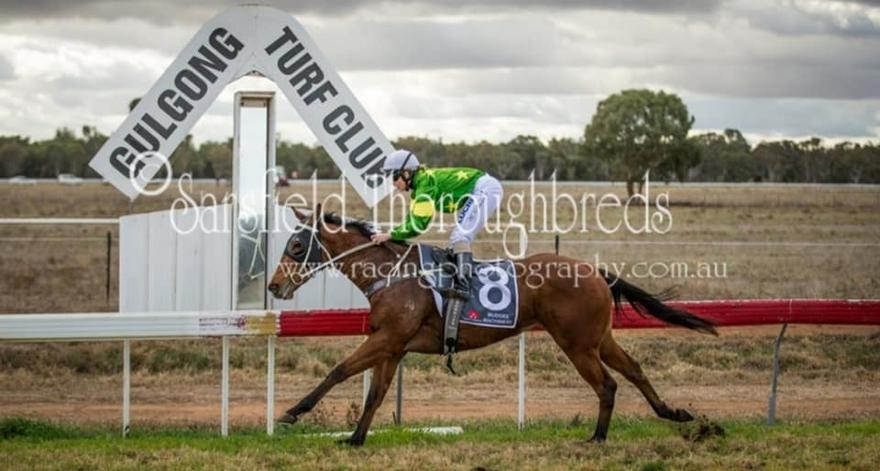 MARLEY GIRL runs first at Gulgong Races 10/6/18