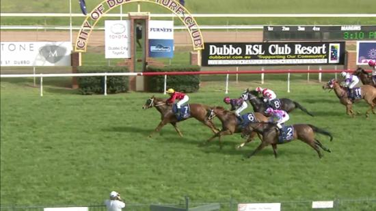 Mr McBat Surges Home Late To Land A 3rd At Dubbo