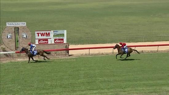 Arjen Puts Away His Rivals In Taking Out The 1st At Walcha