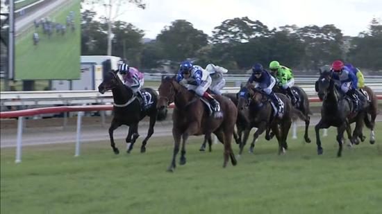 All But Gone Flashes Home Late To Finish 2nd At Odds At Grafton