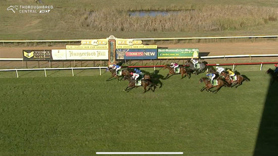 Sugarland Express Runs A Great 2nd Under Grant Buckley In The 6th At Cessnock.