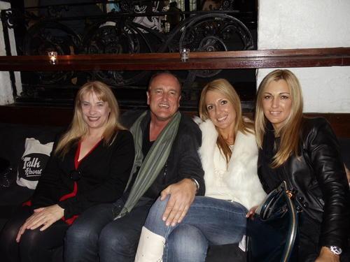 Gary Lyon With Some Beautiful Company