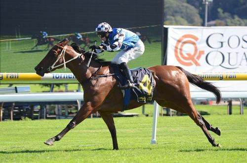 Alpen Rose Breaks Her Maiden In Style
