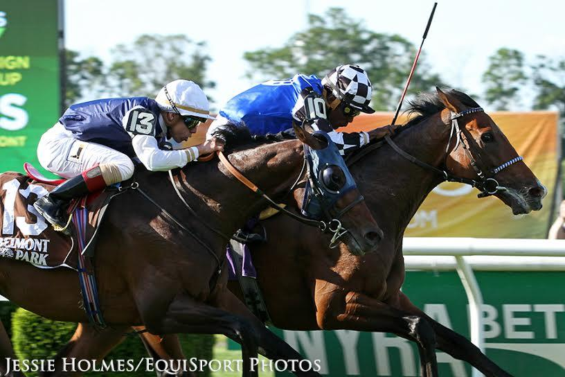 Red Cardinal wins $400,000 US Belmont Gold Cup