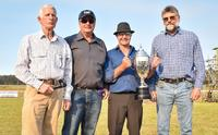Shelby and Gee Pee Ess win Collie Cup