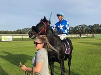 Stable newcomer Apollo makes it a Team Wolfe double