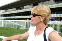 Wanda watching her race.jpg