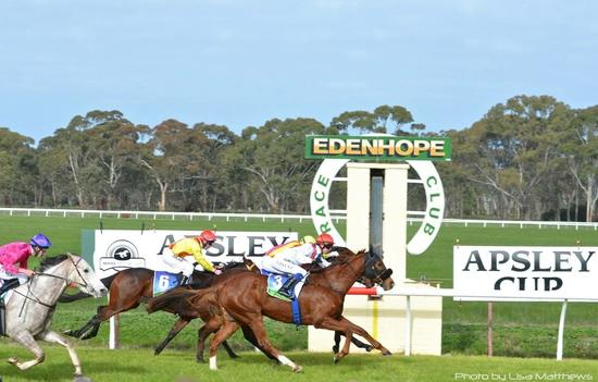 STRIKE ACTION BREAKS HIS MAIDEN