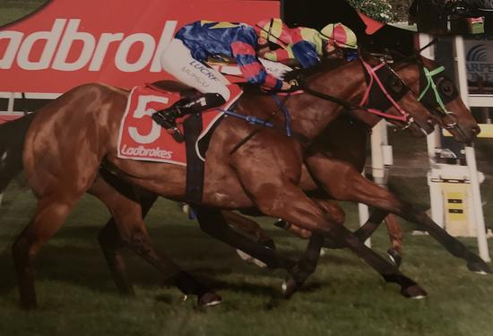 Balestrand wins in a tight photo