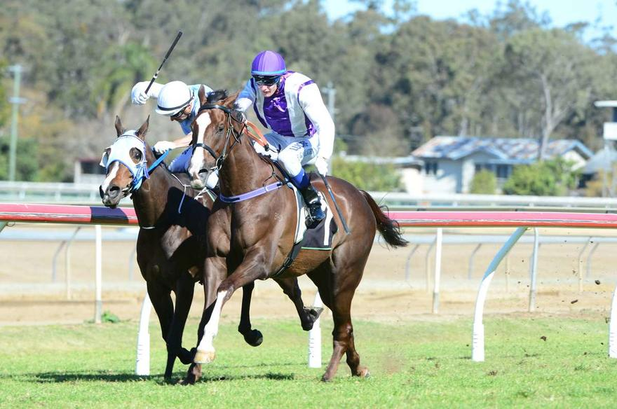 PLAYBOY TOUGHS OUT FIRST METRO WIN
