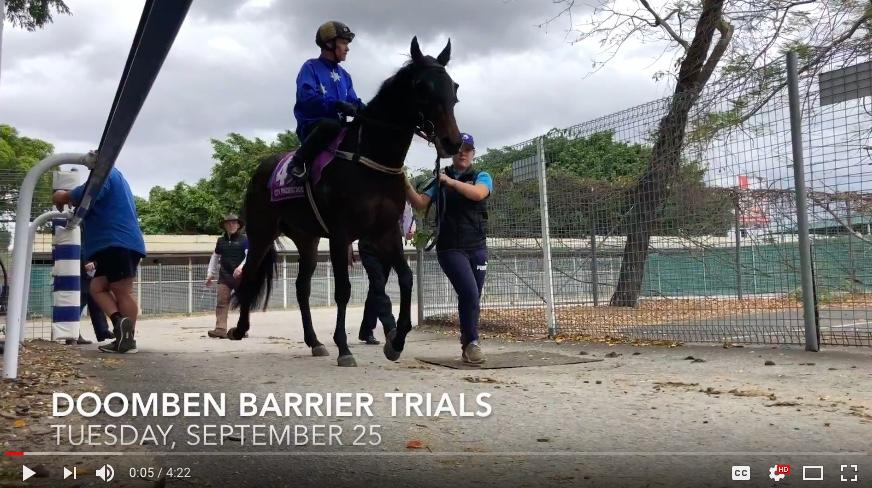 VIDEO: DOOMBEN BARRIER TRIALS REPORT - SEP 25