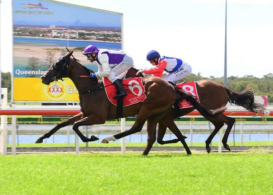 SPIRIT ESPRIT SCORES AMAZING WIN AT SUNSHINE COAST