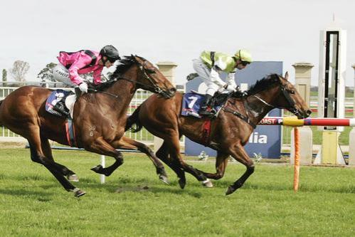GREEN PEARL WINS AT SALE