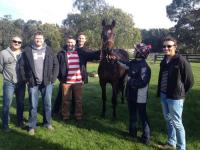 Delbridge Racing Owners at Trackwork