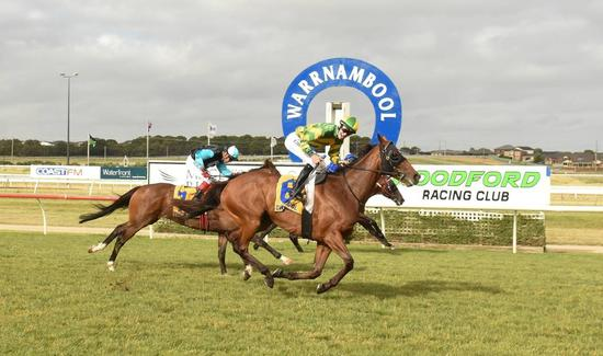 Artie's Shore finally wins a Woodford Cup