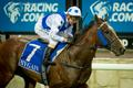 SHEER ABILITY GETS YOUNGSTER OVER THE LINE