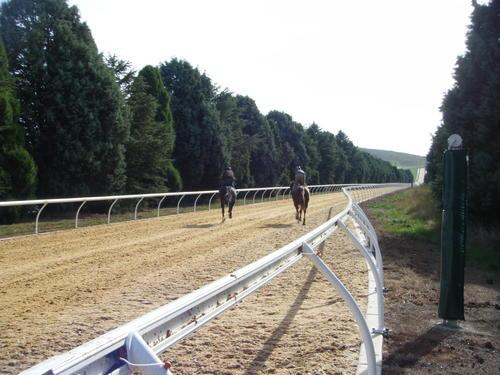 New Uphill Straight Synthetic Track