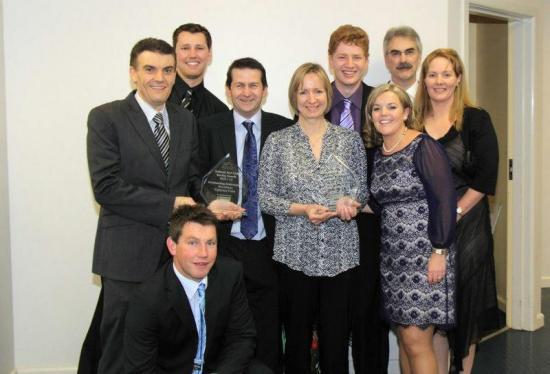 Team O'Sullivan Shines at Awards Evening