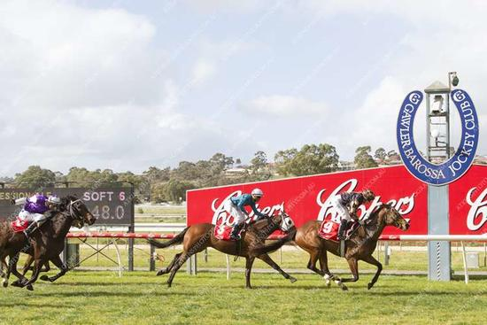 EUREKA! Change Of Scenery Works For Rebel Raider Filly