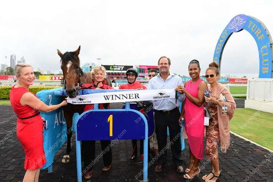 A particularly sweet win for a filly named Ooshe