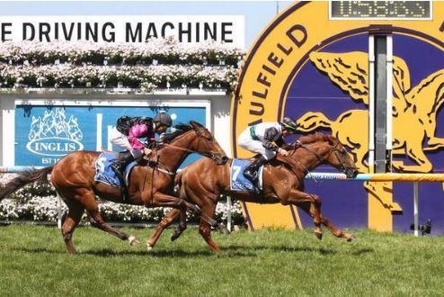 Moonlight Hussler wins listed Debutant Stakes