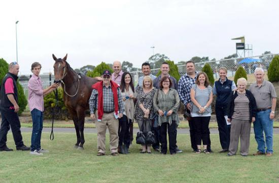 Hospital staff repaid when filly bolts in