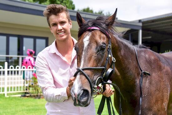 Breakthrough win for promising mare