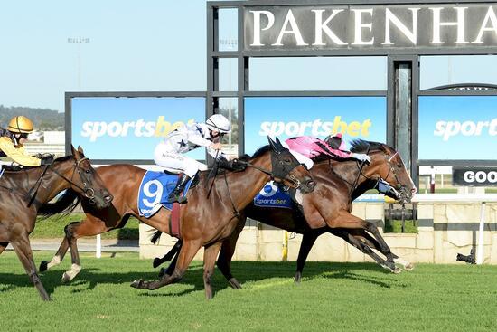 Derby winner's half-sister opens account