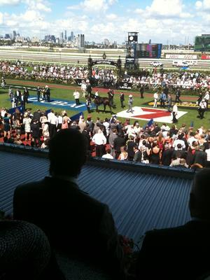 Peter Moody on Black Caviar 27th Sept