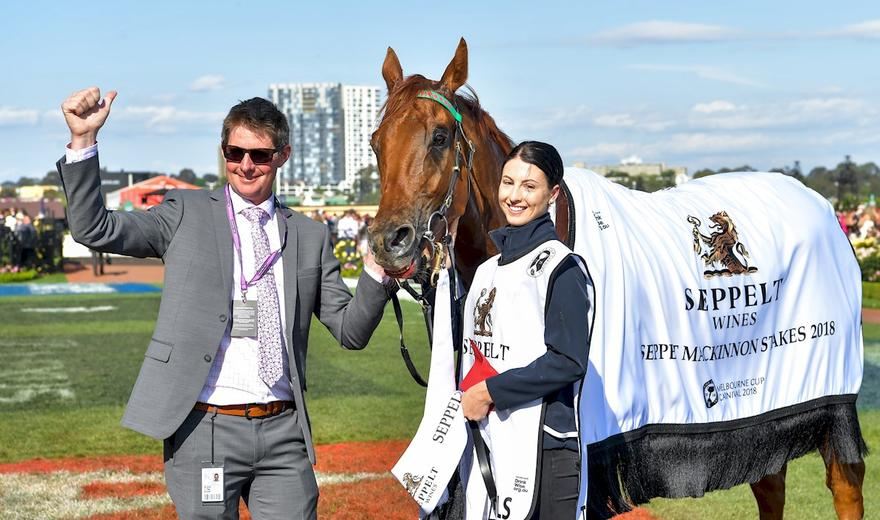 FIRST GROUP ONE WIN FOR TRAP FOR FOOLS AND JARROD