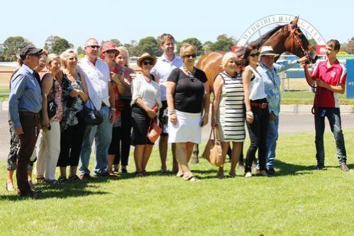 Silent Man makes a noise at Werribee