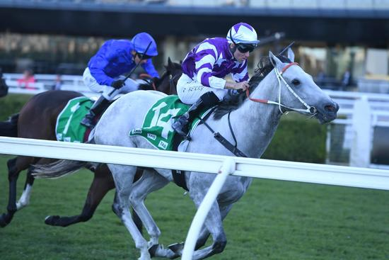 Greyworm becomes a Group 3 winner in Hall Mark Stakes