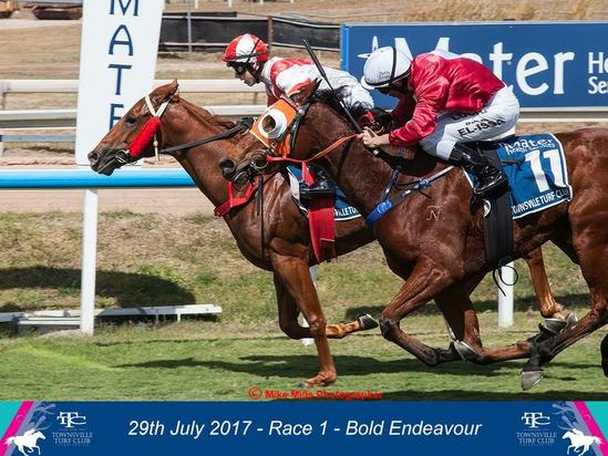 Bold Endeavour Wins BOQ QTIS Two-Years-Old Handicap at Townsville