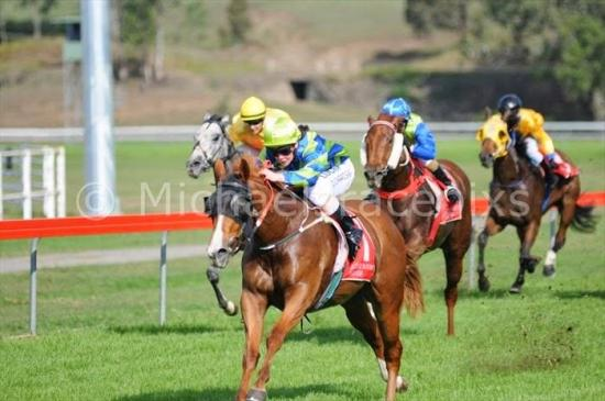 Gold Buttons salutes at Kilcoy