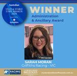 CONGRATS Sarah!