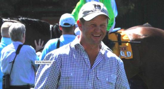 Wagga trainer Chris Heywood hopes to win the race he sponsors at Murrumbidgee Turf Club