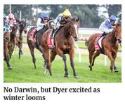 No Darwin, but Dyer excited as winter looms