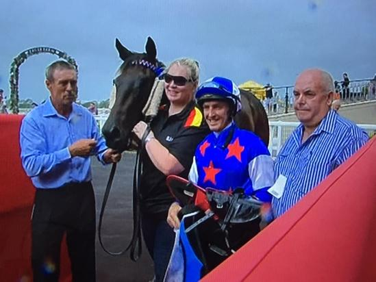 Congratulations To TRJC Murwillumbah Trainer Darren Graham On Winning At Eagle Farm With Morendi