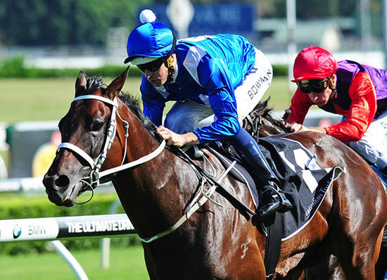 Hugh Bowman On The Mighty Mare